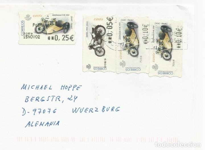MÁLAGA-WURZBURG (Sellos - España - Juan Carlos I - Desde 2.000 - Cartas)