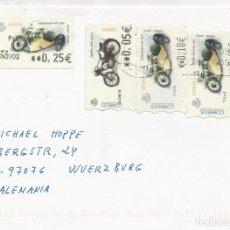 Sellos: MÁLAGA-WURZBURG. Lote 201183076