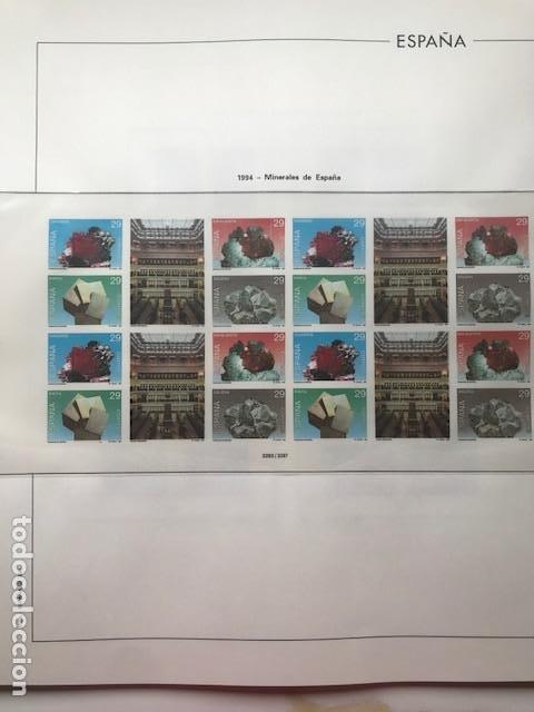 Sellos: Hojas Edifil 1994 en bloque de 4. Suplemento Edifil de España año 1994 en transparente HEB90 - Foto 4 - 201152913