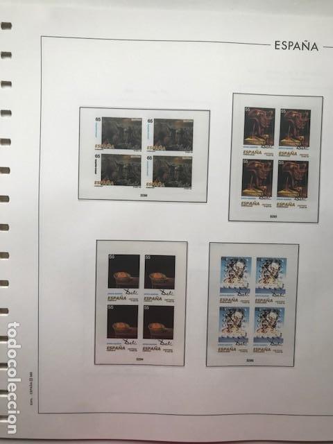 Sellos: Hojas Edifil 1994 en bloque de 4. Suplemento Edifil de España año 1994 en transparente HEB90 - Foto 6 - 201152913