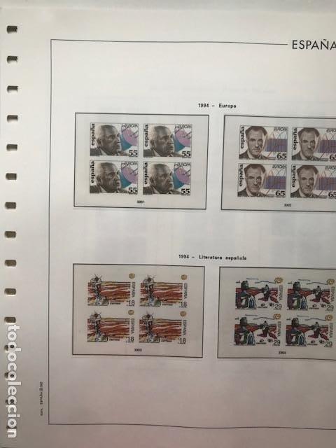 Sellos: Hojas Edifil 1994 en bloque de 4. Suplemento Edifil de España año 1994 en transparente HEB90 - Foto 8 - 201152913