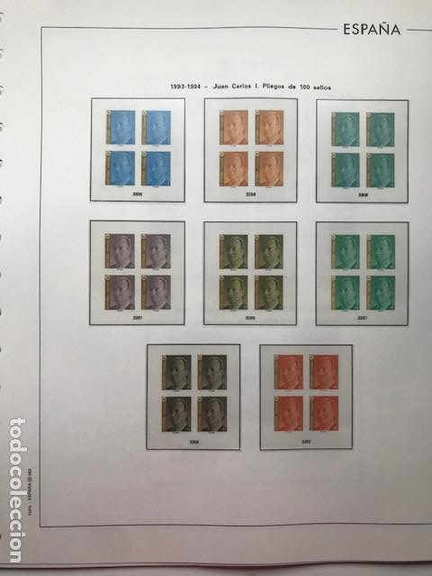Sellos: Hojas Edifil 1994 en bloque de 4. Suplemento Edifil de España año 1994 en transparente HEB90 - Foto 9 - 201152913