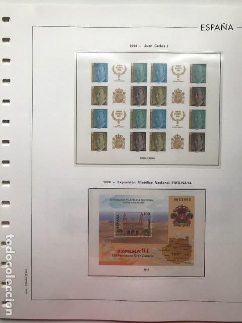 Sellos: Hojas Edifil 1994 en bloque de 4. Suplemento Edifil de España año 1994 en transparente HEB90 - Foto 10 - 201152913