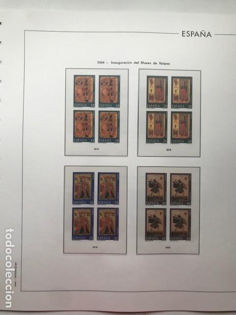 Sellos: Hojas Edifil 1994 en bloque de 4. Suplemento Edifil de España año 1994 en transparente HEB90 - Foto 13 - 201152913