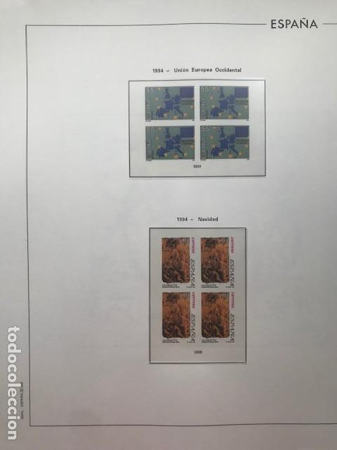 Sellos: Hojas Edifil 1994 en bloque de 4. Suplemento Edifil de España año 1994 en transparente HEB90 - Foto 15 - 201152913