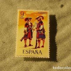 Sellos: ESPAÑA - MOSQUETERO TERCIO MORADOS VIEJOS - NUEVO. Lote 201220246
