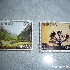 Sellos: EDIFIL Nº 2413/4, EUROPA 1977: PARQUE NACIONAL DE DOÑANA Y DE ORDESA. Lote 201258233