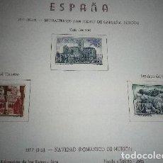 Sellos: EDIFIL Nº 2443/5, MONASTERIO DE SAN PEDRO DE CARDEÑA (BURGOS) NUEVOS. Lote 201258625