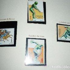 Sellos: ESPAÑA, EDIFIL 2768/71, JUEGOS OLIMPICOS DE LOS ANGELES, SERIE COMPLETA NUEVO. Lote 201259312