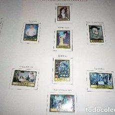 Sellos: ESPAÑA HOMENAJE A PABLO RUIZ PICASSO SERIE DE 8 SELLOS NUEVOS. Lote 201259502