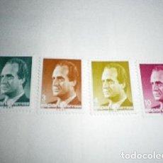 Sellos: ESPAÑA - 4 SELLOS DE JUAN CARLOS I 1985 NUEVOS. Lote 201259717