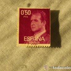 Sellos: ESPAÑA - SELLO DE 0.50 PESETAS JUAN CARLOS I. Lote 201260267