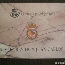 Sellos: CARNET S.M. EL REY DON JUAN CARLOS-CORREOS Y TELEGRAFOS-1998 BUEN ESTADO-VER FOTOS-(V-19.596). Lote 201538195