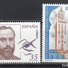 Selos: ESPAÑA,1998 EDIFIL Nº 3586 / 2587 /**/, CENTENARIOS, . Lote 201799666