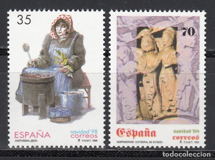 ESPAÑA,1998 EDIFIL Nº 3596 / 3597 /**/, NAVIDAD, (Sellos - España - Juan Carlos I - Desde 1.986 a 1.999 - Nuevos)