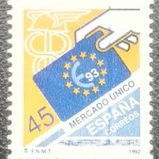 Sellos: 1992. ESPAÑA. 3226. MERCADO ÚNICO EUROPEO. SERIE COMPLETA. NUEVO.. Lote 201837371