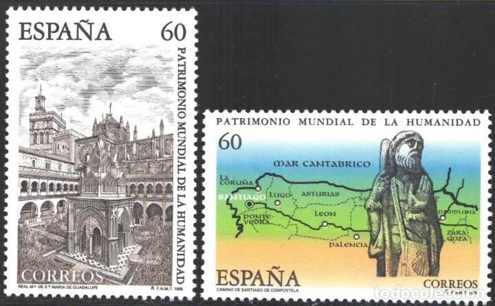 ESPAÑA, 1995 EDIFIL Nº 3390 / 3391 /**/, PATRIMONIO MUNDIAL DE LA HUMANIDAD. (Sellos - España - Juan Carlos I - Desde 1.986 a 1.999 - Nuevos)