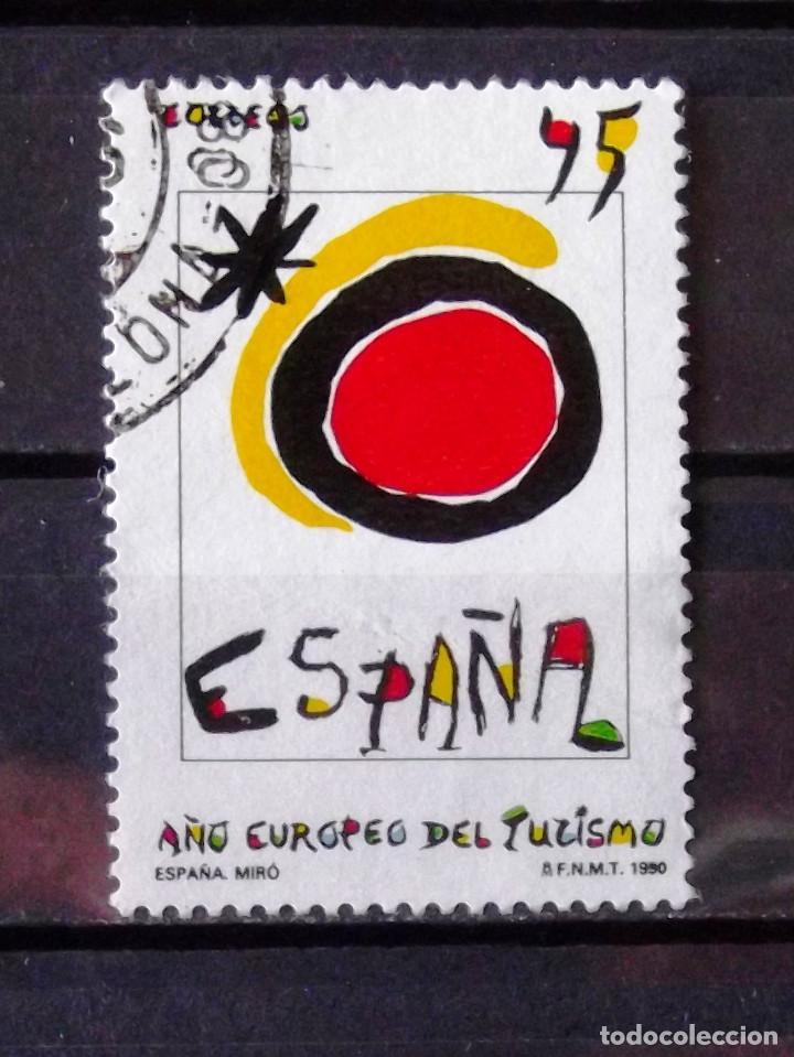 3091, SERIE EN USADO. TURISMO. (Sellos - España - Juan Carlos I - Desde 1.986 a 1.999 - Usados)
