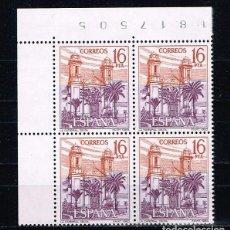 Sellos: ESPAÑA 1983 - EDIFIL 2727** - PAISAJES Y MONUMENTOS - BLOQUE DE 4 - BORDE HOJA. Lote 202010171