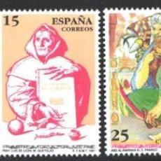 Selos: ESPAÑA,1991 EDIFIL Nº 3118 / 3121 /**/, CENTENARIOS . Lote 202032597