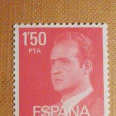 Sellos: SELLO CORREOS - ESPAÑA - JUAN CARLOS I - 1,50 PESETAS -PTA - ROJO CARMIN- EDIFIL 2344 - 19776- USADO. Lote 202300738