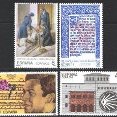Selos: ESPAÑA, 1990 EDIFIL Nº 3069 / 3072 /**/, CENTENARIOS . Lote 202375968