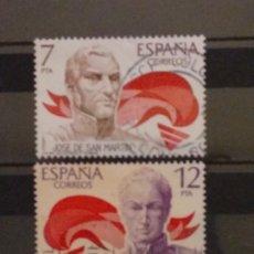 Timbres: AÑO 1978 AMERICA-ESPAÑA SE VENDE DOS SELLOS EN USADOS EDIFIL 2489-2490. Lote 202379931