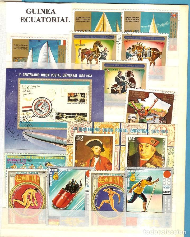 LOTE DE SELLOS DE GUINEA ECUATORIAL (Sellos - España - Juan Carlos I - Desde 2.000 - Nuevos)