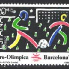 Selos: ESPAÑA, 1989 EDIFIL Nº 3025 / 3027 /**/, BARCELONA,92, SERIE PRE-OLÍMPICA . Lote 202492935