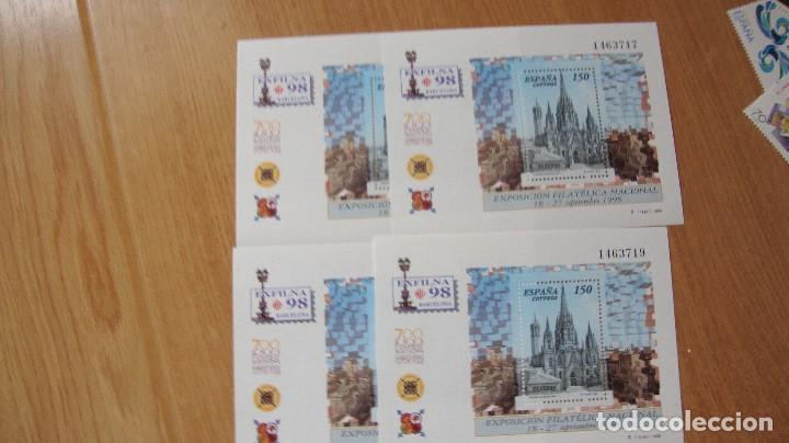 ESPAÑA 1998 EDIFIL H-3557 4 NUEVAS PEFECTAS (Sellos - España - Juan Carlos I - Desde 1.986 a 1.999 - Nuevos)