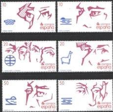 Selos: ESPAÑA,1988 EDIFIL Nº 2969 / 2974 /**/, V CENTENARIO DEL DESCUBRIMIENTO DE AMÉRICA. Lote 202602637