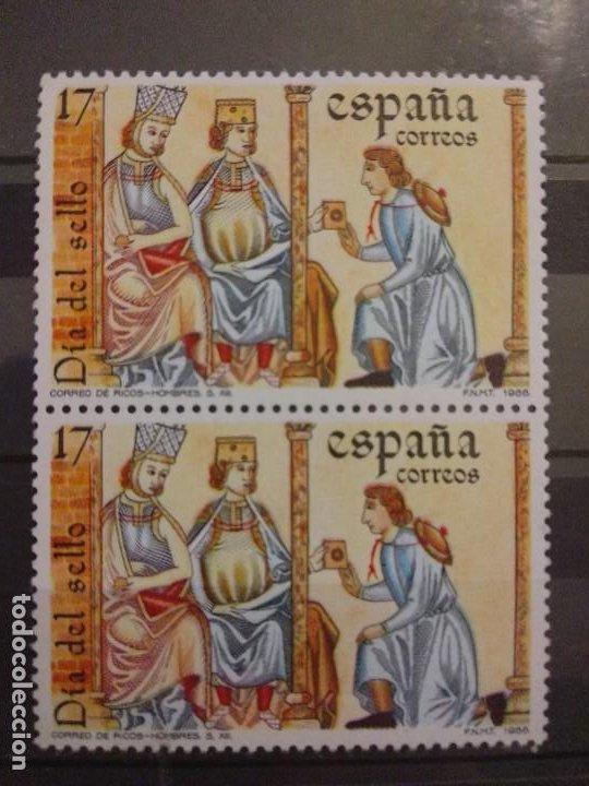 AÑO 1986 DIA DEL SELLO NUEVOS EDIFIL 2857 (Sellos - España - Juan Carlos I - Desde 1.986 a 1.999 - Nuevos)