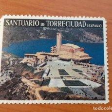 Sellos: VIÑETA SANTUARIO DE TORRECIUDAD. Lote 72021415