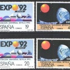 Selos: ESPAÑA, 1987 EDIFIL Nº 2875 / 2878 A /**/ EXPO '92. LA ERA DE LOS DESCUBRIMIENTOS. Lote 203202865