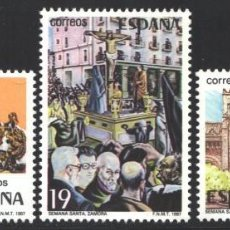 Selos: ESPAÑA, 1987 EDIFIL Nº 2897 / 2899 /**/, GRANDES FIESTAS POPULARES ESPAÑOLAS. Lote 203203232