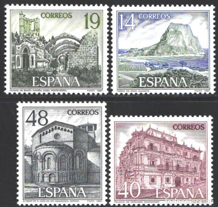 ESPAÑA, 1987 EDIFIL Nº 2900 / 2903 /**/, TURISMO (Sellos - España - Juan Carlos I - Desde 1.986 a 1.999 - Nuevos)