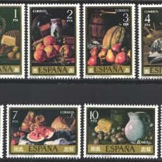 Sellos: ESPAÑA, 1976 EDIFIL Nº 2360 / 2367 /**/, PINTOR, LUIS EUGENIO MENÉNDEZ. Lote 203306045
