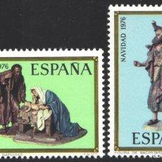 Sellos: ESPAÑA, 1976 EDIFIL Nº 2368 / 2369 /**/, NAVIDAD. Lote 203306101
