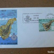 Sellos: ESPAÑA 1982 - SPD - FDC - DIA DEL SELLO - TENERIFE - EDIFIL Nº 2668. Lote 203333273