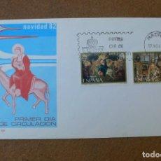 Sellos: ESPAÑA 1982 - SPD - FDC - NAVIDAD - NOEL - CHRISTMAS - EDIFIL Nº 2681/2682. Lote 203335325