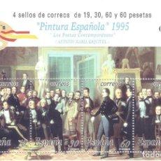 Sellos: EDIFIL 3401 PINTURA ESPAÑOLA. ANTONIO MARÍA ESQUIVEL 1995. MNH **. Lote 203346513