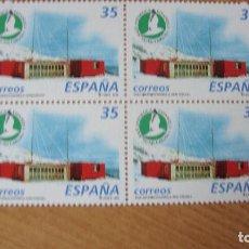 Sellos: ESPAÑA 1998 EDIFIL 3592 BLOQUE 4 NUEVOS PEFECTOS. Lote 204338542