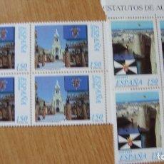Sellos: ESPAÑA 1998 EDIFIL 3534/35 BLOQUE 4 NUEVOS PEFECTOS. Lote 204338802