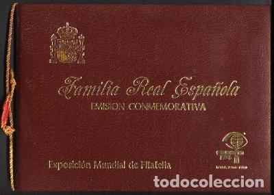 CARPETA FAMILIA REAL 1984 (Sellos - España - Juan Carlos I - Desde 1.975 a 1.985 - Cartas)