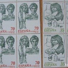 Sellos: ESPAÑA 1998 EDIFIL 3538/39 BLOQUE 4 NUEVOS PEFECTOS. Lote 204472166
