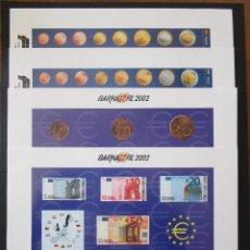 Sellos: ESPAÑA 2002, 4 COMPLETA HB BARNAFIL / EURO (MNH)**. Lote 204596120
