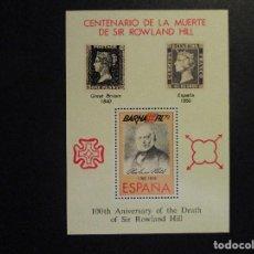 Sellos: ESPAÑA 2001 Y 79 BARNAFIL DOS POSTALES (MNH)**. Lote 204599278