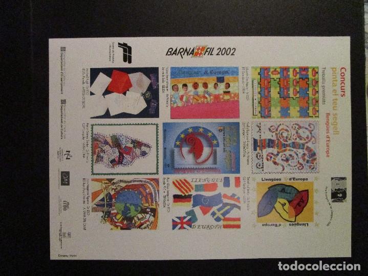 Sellos: España BARNAFI 2002 Y 2000 CONCURS Y RCD ESPAYOL DE BARCELONA - Foto 2 - 204600912