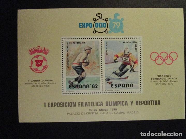 SELLOS 1979 EXPO OCIO 78 Y XI FERIA NACIONAL DEL SELLO 1978 (Sellos - España - Juan Carlos I - Desde 2.000 - Nuevos)