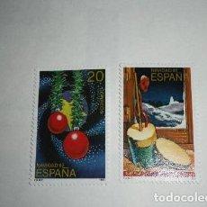 Sellos: ESPAÑA 1987 2925/6 NAVIDAD SERIE COMPLETA. Lote 204625402